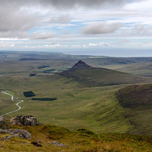 Berridale Water from summit of Morven by Julie Catterall