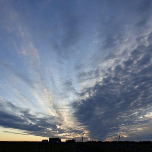 Big Sky over Ackergill by Carol Gunn