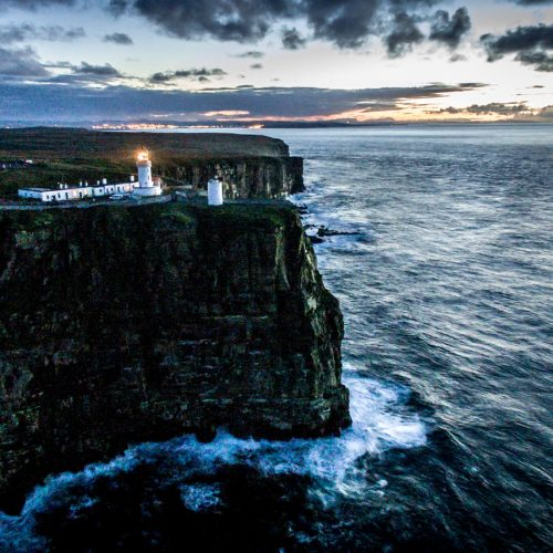 Dunnet Lighthouse by Colin Campbell