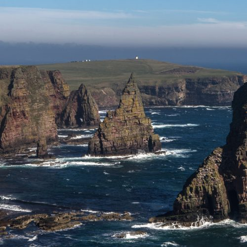 Duncansby Stacks by Julie Catterall