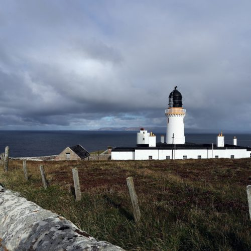 Dunnet Head Lighthouse by James Gunn
