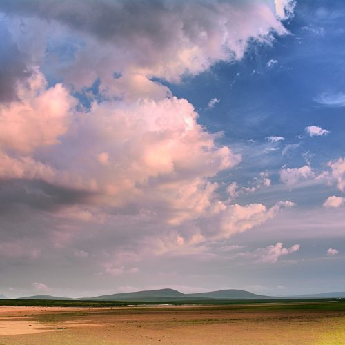 Evening Sky by Donald Sandison