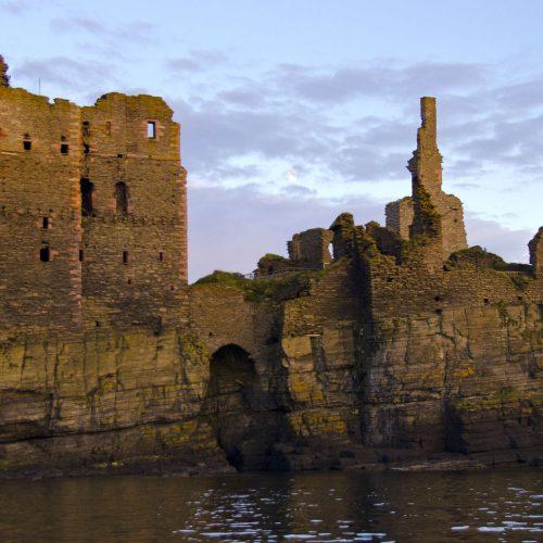 Evening at Sinclair Girigoe Castle - Bob Murdoch