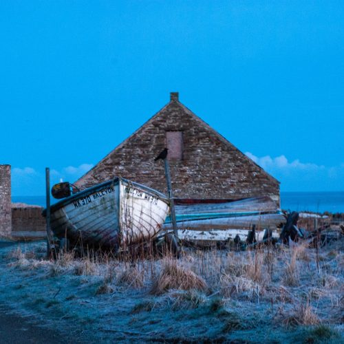 Castletown Harbour by Jean Mackay