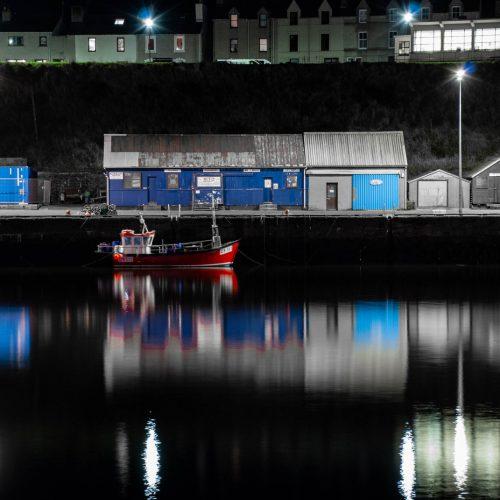 Wick Harbour by Jean Mackay