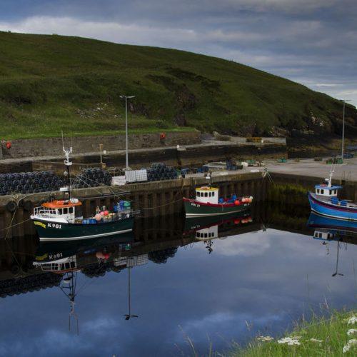 Lybster Harbour by Bob Murdoch