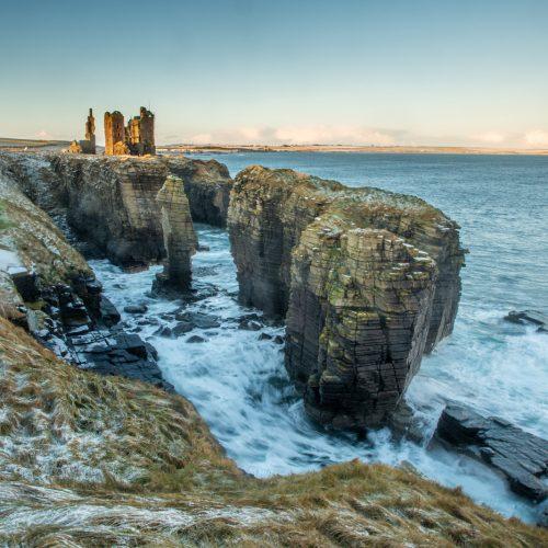 Sinclair Girnigoe Castle by Colin Campbell