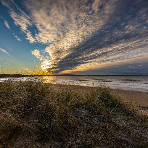 Storm Front Above Dunnet by Duncan McLachlan