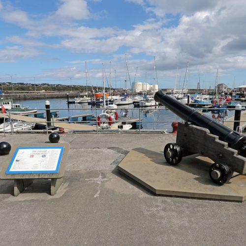 Wick Harbour by James Gunn