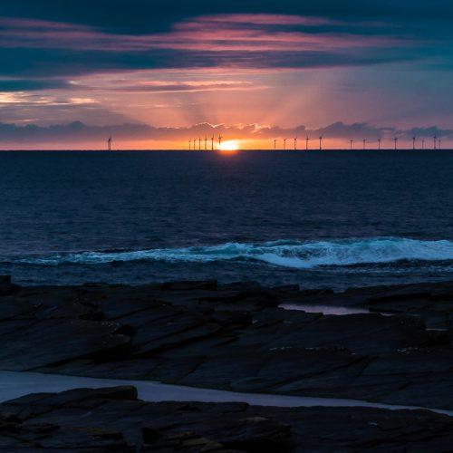Wick Sunrise by Ally Mackechnie