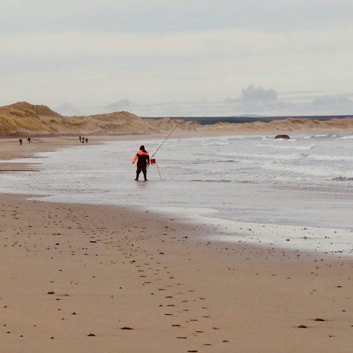 Fisherman at Reiss Sands by carol Gunn